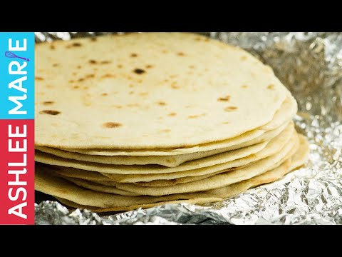 How to make Homemade Flour Tortillas