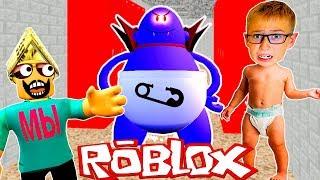 Что Случилось в ШКОЛЕ? Побег от Злого Учителя в Роблокс Игра Как Мультик Roblox Escape от Мы Играем