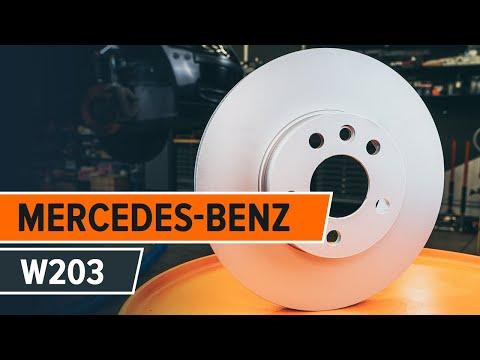 BREMSBELÄGE VORNE NK BREMSSCHEIBEN HINTEN MERCEDES-BENZ C-KLASSE W203 S203