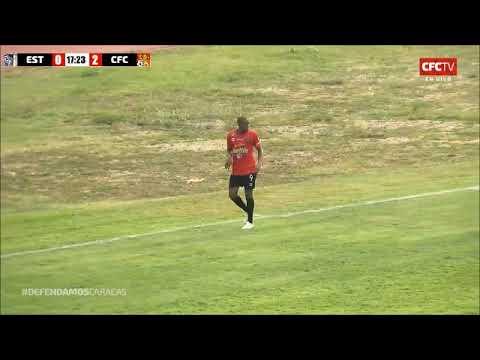 Gol Carlos Espinoza Estudiantes CSC 0-3 Caracas FC Apertura 2019 - Javier Rivera - Deportiva 1300 AM