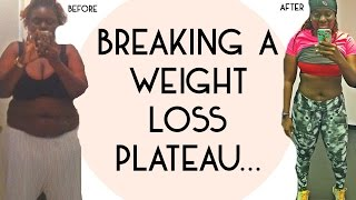 6 Tips to BREAK a Weight Loss Plateau!