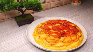 Беру 4 КАРТОШКИ ЛУК и делаю бюджетное блюдо из картофеля Подойдёт как на обед так и на завтрак