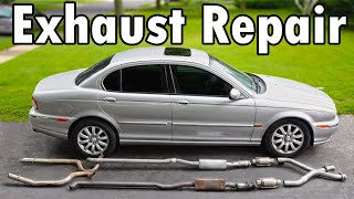homepage tile video photo for How to Repair an Exhaust Leak DIY (No Welding)