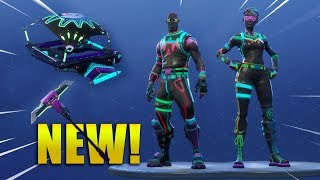 *NEW* LITESHOW & NITELITE SKINS & GLOW GLIDER & GLOW STICK! Fortnite Battle Royale !