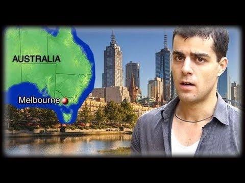 A Melhor Cidade do Mundo Para Viver (Melbourne, Austrália)
