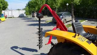 MIX Буровые установки (ямокопатели) на тракторы