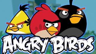 ПРЯТКИ НА КАРТЕ ANGRY BIRDS(Играем в прятки на карте из игры