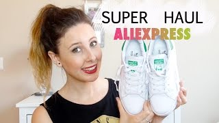 SUPER HAUL ALIEXPRESS I ADIDAS STAN SMITH, CLUSE Y MÁS !