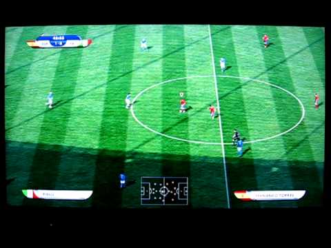FIFA World Cup 2010 Demo PS3 Gameplay