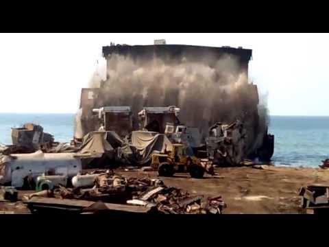 Ship Breaking in Gadani Balochistan