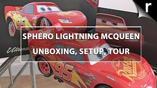 Sphero Lightning Mcqueen Unboxing, Setup & Testing The Remote-Control Car!
