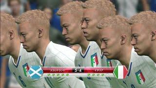 11people Keisuke Honda vs 11 people Syunsuke Nakamura ウイニングイ...