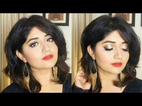 Affordable Red Lips Makeup   Indian Makeup Tutorial   Corallista
