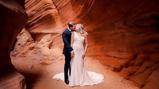 Wedding Highlights at Peek-A-Boo Canyon