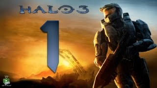Halo 3 - Walkthrough Part 1 [Mission 1: SIERRA 117] - W/commentary