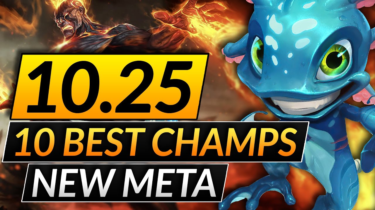Download 10 MOST BROKEN CHAMPIONS in the NEW META - 10.25 Picks You MUST ABUSE - LoL Tips Guide