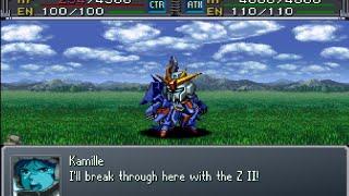 Super Robot Wars Alpha Gaiden - Zeta II Attacks