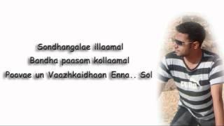 Manram Vandha Tamil Karaoke Mouna Raagam By BiSTRO YouTube