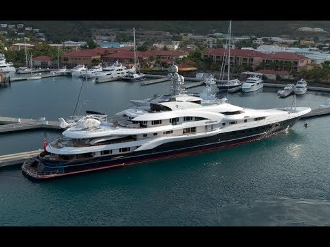 150 Million Dollor Luxury Yacht Attessa IV By: Ian Van Tuyl
