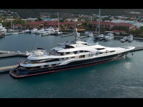150 Million Dollor Luxury Yacht Attessa Iv By Ian Van Tuyl