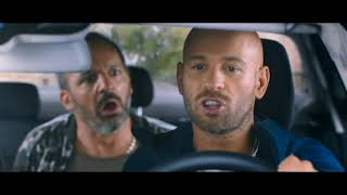 Taxi 5 (2018) première course du film en Mercedes sur Paris