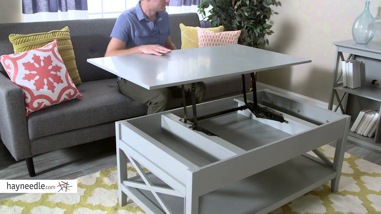 Belham Living Hampton Lift Top Coffee Table Product Review Video