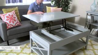 Belham Living Hampton Lift Top Coffee Table - Product Review Video