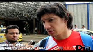 Arribo a Ibagué del Club Deportivo Universidad Católica de Chile