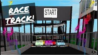Race Car Track + Mini Role-Play : ROBLOX | Welcome to Bloxburg - Speedbuild