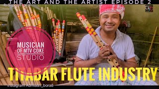 A flutist from TITABAR who performed at Mtv CokeStudio   THE ART AND THE ARTIST EP2   Flute Industry