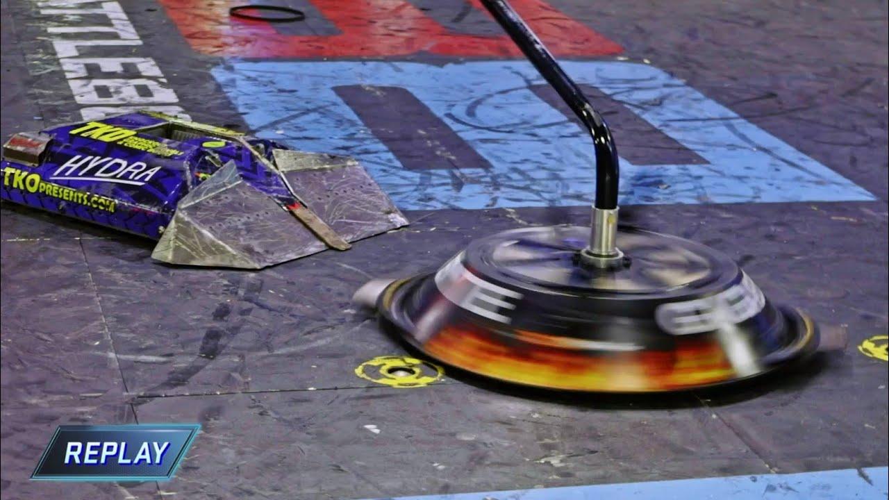 Download Hydra vs Gigabyte - Battlebots World Championship 2020 Round Of 16 - Bots Fan