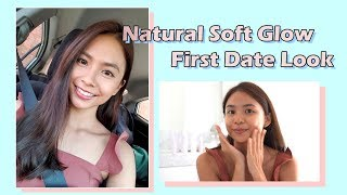 GRWM : Natural Soft Glow Date Night Look