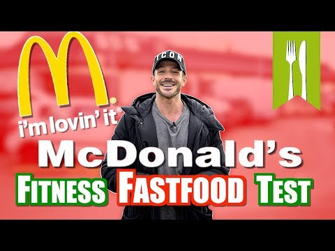 McDonalds Im Fitness Fastfood Test