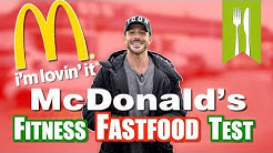 McDonalds im Fitness Fastfood Test