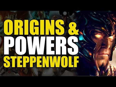 Origins & Powers of Steppenwolf
