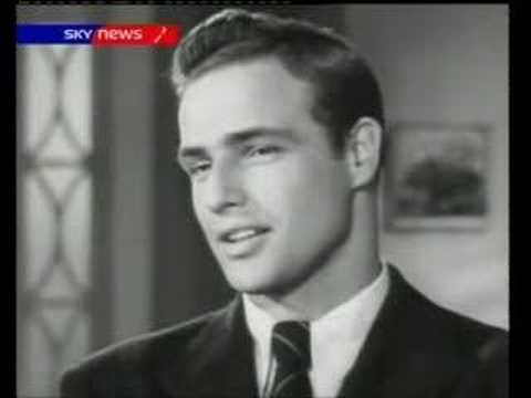 marlon brando early screentest rebel without a cause tv3 nz