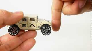 Quickie Car Review - Mighty Machines - Toys R Us - Humvee - free car w/candy