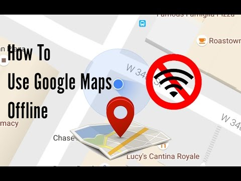 How To Use Google Maps Without Internet Connection