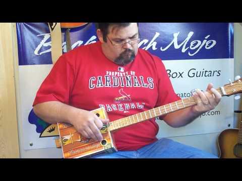 cigar box guitar #231 by Back Porch Mojo