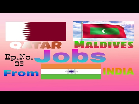Jobs in Qatar And Maldives Apply soon Salary above  30000 rupees 2017