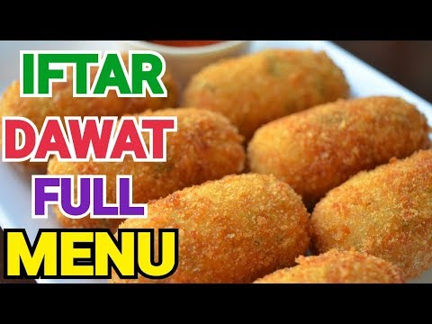11 IFTAR DAWAT RECIPES by (YES I CAN COOK) IFTAR PARTY FULL MENU #2019Ramadan #IftarMenu