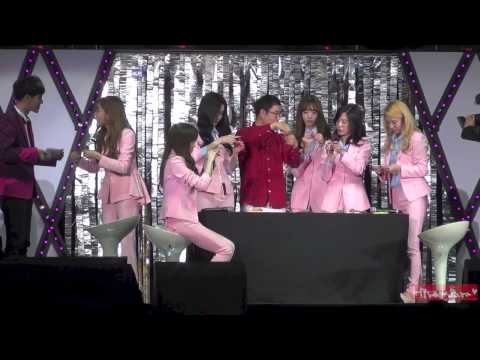 141129 SNSD chinese knotting @ Beijing Fanparty (Seo focus)