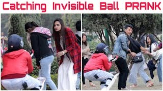 Catching Invisible Ball |Fake IPL Prank 2019|Prank in India |Gone Cr@zy|Funky Tv