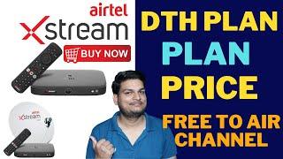 Airtel Xstream Set Top Box Plan ,Price &  Live Tv with Airtel  Xstream 4K Set Top Box