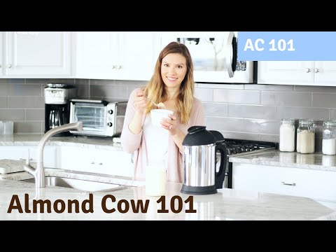 How To Use The Almond Cow (Plant-Based Milk Maker)