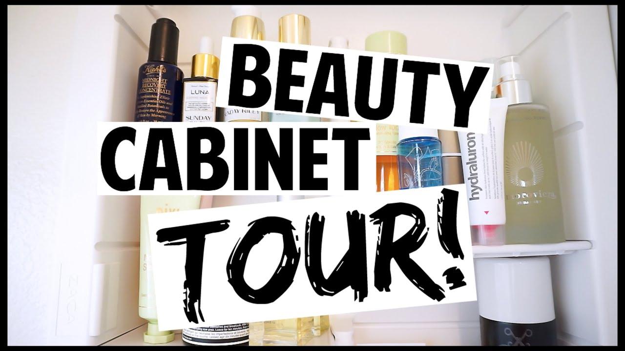 Beauty Cabinet Tour // 2016