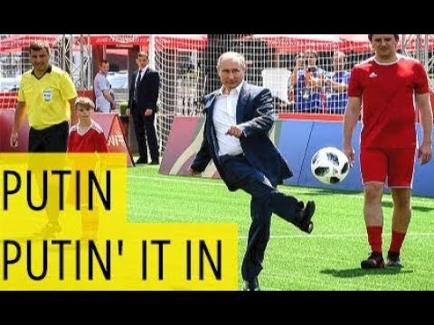 Watch Putin Showing Off His Football Skills In Red Square, Moscow!