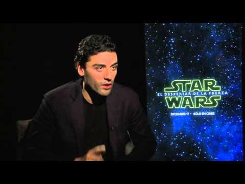 Entrevista Oscar Isaac - Star Wars: El Despertar de la Fuerza