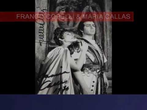 Franco Corelli & Maria Callas - Ah fuggi da morte... Il suon dell