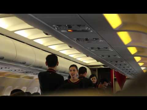 Jetstar Asia Airways Flight Experience: 3K201 Singapore to Jakarta